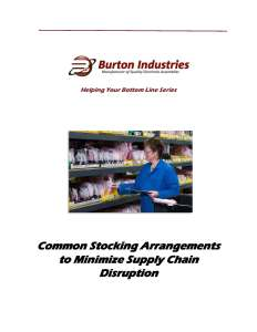 Common Stocking Arrangements to Minimize Supply Chain Disruption_Page_1