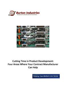 Cutting Time in Product Development_ Four